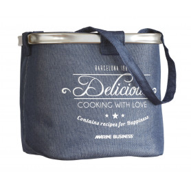 LUCE CORTESIA TONDA LED BLU