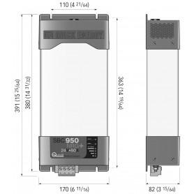 BATTELLO LEGNO 420 + MOTORE 9.8 HP