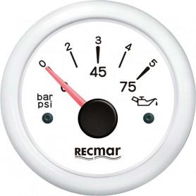AMPEROMETRO +  - 80 AMP. NERO
