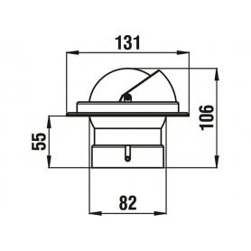 KIT TIMONERIA IDR.BAYSTAR COMPACT S/TUBI