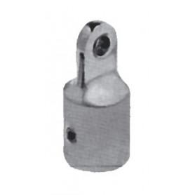 MOSCHETTONE INOX APERT.FUORI MM.100