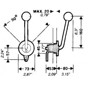 FERMAGLIO X CAVI C14-B14