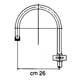 OBLÒ ELLITTICO HMG MM. 470X201