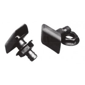 PORTACANNE INOX X TUBI MM.35/40