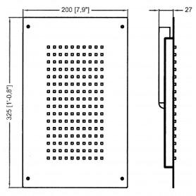 SERBATOIO ACQUA LT.30 DIM.55X40X14