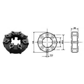 AUTOCLAVE FLOJET LT.4,3 MIN. 12/V