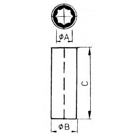 ELETTROPOMPA IN BRONZO TIPO 030 12V