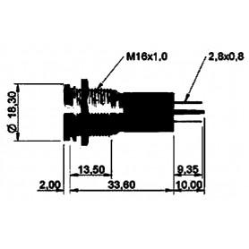STACCABATTERIA 12V S/USCITA SEGNALE