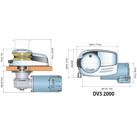 SALPA ANCORA DP3 1500 WATT 24V C/CAMP