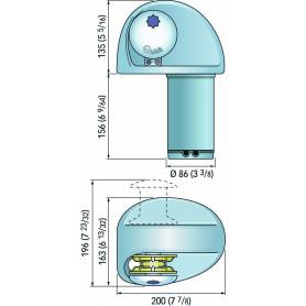 LUCI LED 12-28/V 12W LUNGH.546MM