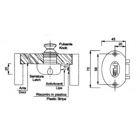 TERMINALE PVC RADIAL 30
