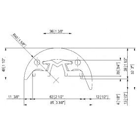 TUBO PVC SPIRALE INOX MM 16
