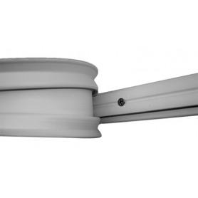 TUBO PVC SPIRALE INOX MM 20