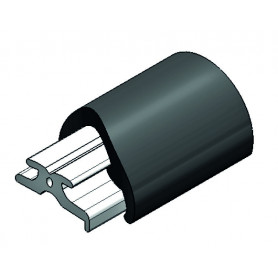 TUBO PVC SPIRALE INOX MM 25