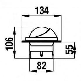 SERRATURA DA INFILARE SX MM.44X42,5