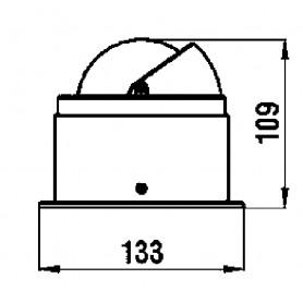 GHIACCIAIE LT.125 DIM.780X500X610MM