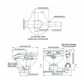 GRILLI INOX A CETRA MM.12