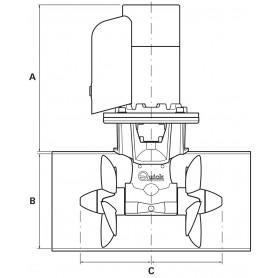 CIMA GHERLINO 3 L. HT NERO MM.14