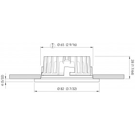 BARRA LED SIMPLY MM.1145 B.NAT.24V