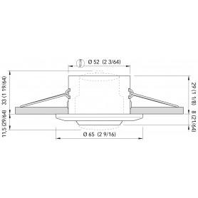 LAMPADA 9 LED SV8.5 MM.42 LUCE FREDDA