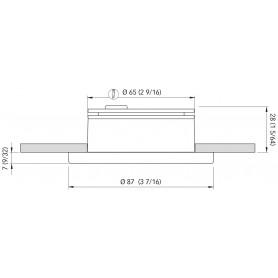 TUBO LED IP65 CM.30 LUCE FREDDA